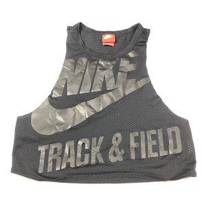 Nike | Mesh Track & Field Sleeveless Crop Top